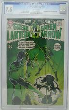Green Lantern #76 ~ DC 1970 ~ CGC 7.5 ~ 1st Neal Adams Green Lantern & Arrow