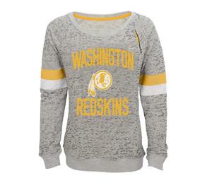 Outerstuff NFL Youth Girls Washington Redskins My City Boatneck Sweatshirt