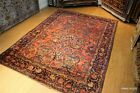 LAST QUATER 19TH CENTURY AUTHENTIC VINTAGE LILIHAN RUG, 9' X 13' ONE OF A KIND