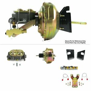 "1973-77 Chevrolet Chevelle FW Mount Power 7"" Single Brake Booster Kit Disc/Disc"