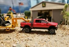 2016 -17 1/64 Custom DODGE RAM PowerWagon 4x4  Truck Ertl farm Cummins hitch tow