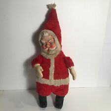 antique authentic 1930s stuffed rubber face and boots Santa doll