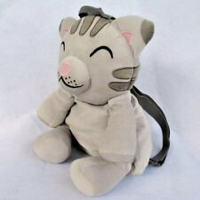 The Big Bang Theory Soft Kitty Purse Plush Cat Backpack Bag Gray gift