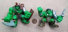 Marvel lot 2 SUPER HERO SQUAD Mini Figures GLADIATOR HULK Ragnarok PLANET