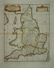 BRITANNIA SAXONICA BY ROBERT MORDEN FOR CAMDEN'S BRITANNIA 1695.
