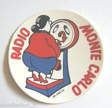 ADESIVO RADIO / Sticker / Autocollant _ MONTE CARLO ZODIACO BILANCIA (cm 9)