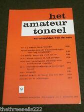 DUTCH THEATRE - HET AMATEUR TONEEL - 1965 # 9 - J ROGGEVEEN