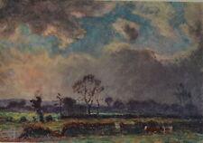 Temps Nuageux by Emile Claus. The Studio, 1915.