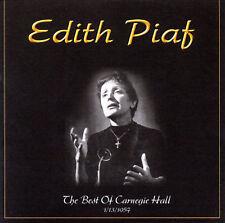 Edith Piaf : Best of Carnegie Hall CD (2002)