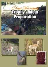 caping and butchering dvd shooting fallow deer taxidermy meat FREE POST