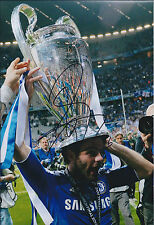 Juan MATA SIGNED Autograph CHELSEA FC 12x8 Photo AFTAL Champions League WINNER