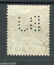 ALLEMAGNE EMPIRE, 1920-22, timbre perforé n° 121, type e, oblitéré, PERFIN