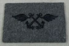 US Navy Aviation Boatswain's Mate Specialty Mark On Green Wool