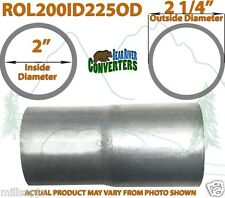 """2"""" ID to 2 1/4"""" 2.25"""" OD Universal Exhaust Pipe to Component Adapter Reducer"""