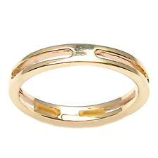 Anillo compromiso para hombre o mujer de oro amarillo 18 ct