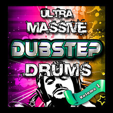 Dubstep Drum Hit Samples Akai MPC 2000XL 2500 500 1000 5000 MPC2000XL MPC2500 XL
