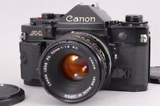 【Exc++++】 Canon A-1 35mm SLR Film Camera Body FD 50mm F/1.8 S.C from japan #404