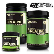Optimum Nutrition Micronised Creatine Monohydrate Powder 144g on 40 Servings X2