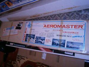 AEROMASTER TOO R/C MODEL RARE Balsa Rc airplane Kit