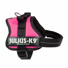 Julius-K9,  K9 PowerHarness for Dogs, Size Mini-Mini, Dark Pink NEW FREE P&P