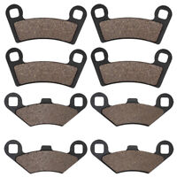Front Rear Brake Pads For Polaris 800 Ranger RZR 2008 2009 2010 2011-2014 RZR570