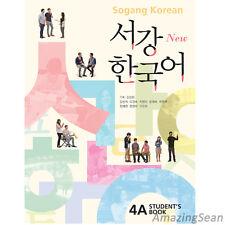 Sogang Korean 4A Student's Book With CD Korean Language Book Conversation BO55