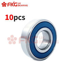 10PCS,6204-2RS Premium Rubber Sealed Deep Groove Ball Bearing, 20x47x14,6204 2RS