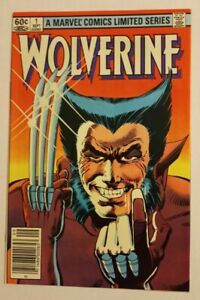 Wolverine Limited Series #1 AMAZING condition Marvel comic book Frank Miller