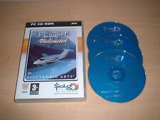FLIGHT UNLIMITED III FLIGHT SIMULATOR PC GAME PC CD-ROM 3 CD SET