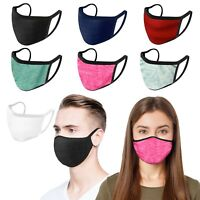 10 Pack - iFab Washable Reusable Cloth Face Mask - 95% Poly - Assorted Color