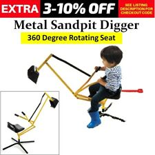 Heavy Duty Kids Sand Digger Ride On Toy Outdoor Excavator Childrens Sandpit