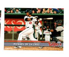 Michael De La Cruz 2017 Lansing Lugnuts team set card Dominican Republic