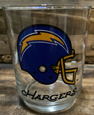 San Diego Chargers NFL Vintage Drink Glass Los Angeles