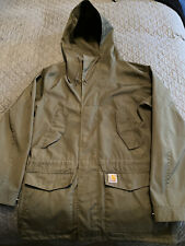 Mens Carharrt Battle Parka Medium