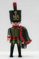 FRANZOSE HUSAR E Playmobil zu Garde Soldat Dolman Napoleon vs. Rotröcke Custom
