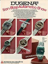 Dugena-Automatic-1975-Reklame-Werbung-genuine Advertising-nl-Versandhandel