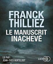Le Manuscrit inachevé - Franck THILLIEZ | Livre audio (neuf)