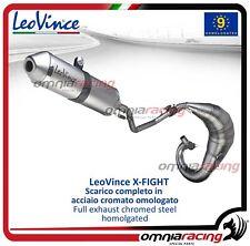 Leovince X-FIGHT - Scarico completo inox omologato per BETA - RR 50 ENDURO 2012>
