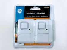 GE Personal Security Window Door Alarm, 2 Pack, 45115 C4