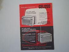advertising Pubblicità 1963 GELOSO RADIO G 3330 TV-SONIC/EXPLORER G 3331