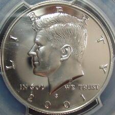 2001-S Kennedy Silver Half Dollar PCGS PR69DCAM 81448362 09022017