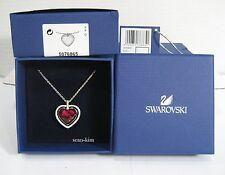 Swarovski Ballet Pendant , Heart Shaped, Love Red Crystal Authentic MIB 5076865