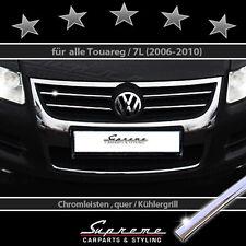 VW TOUAREG 7L 2006-2010 TRIM PER GRIGLIA RADIATORE CROMATA SUPERIORE 3M