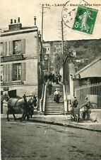 Carte LAON Escalier de la Gare