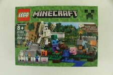 MODERN Plastic Toy Set LEGO MINECRAFT 21123 The Iron Golem 208PC NEW Complete