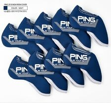 New 2019, Ping Iron Cover  Navy Color, 9-piece