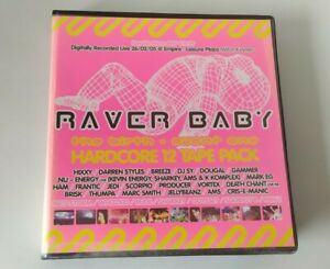 Rave Tape 11 Pack Old Skool Techno Raver Baby The Birth Event One Hardcore