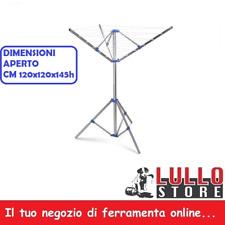 stendino stendibiancheria ad ombrello verticale a 3 piedi in alluminio DIMAPLAST