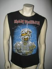 Vintage 1985 IRON MAIDEN World Slavery Tour T Shirt Size M/L