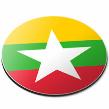 Round Mouse Mat - Awesome Burma Asia Naypyitaw Office Gift #9106